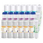 5-Stage Reverse Osmosis Home Water Filter Replacement Cartridges 1/2/3-Years Set