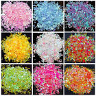 8g Holographic Alphabet Glitters Nail Art Patch Fillings Resin Craft Jewelry DIY