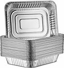 Oblong Aluminum Cake Pan with No Lids 100% recyclable  L 13 x W 9 x D 1 7/8