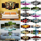 US Modern Picture Abstract Canvas Wall Art Oil Painting Home Wall Decor Unframed