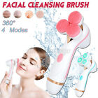 3 Head 360  Electronic Facial Cleansing Face Massage Brush Skin Care Spa Se