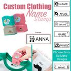 Childrens Cute Custom Waterproof Clothing Name Seal Stamp For Student Uniform