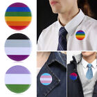 Hat Decoration Jewelry Accessories Gay Badge Brooch Denim Brooches Collar Pin