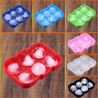 Perfect Round 6 Mega-ICE Hole Large Silicone Gin, Whisky & Brandy Ice Cube Tray