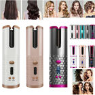Wireless Cordless Auto Rotating Hair Curler LCD Hair Waver Curling Machine Comb