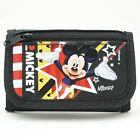 Disney Mickey Mouse Wallet for Toddler Children w/ Photo ID Holder Coin Pocket