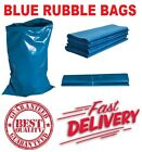 HEAVY DUTY BLUE RUBBLE BUILDERS REFUSE TOUGH WASTE SACKS BAGS LINERS