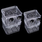 Aquarium Fish Tank Guppy Double Breeding Breeder Rearing Hatchery Trap Box Q1X9