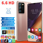 "6.6"" Dual Sim Quad Core Android Smartphone Face Unlocked Mobile Phone 3g 2020 Au"
