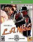 L.A. Noire (Microsoft Xbox One, 2017) Brand New/Factory Sealed