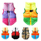Winter Dog Pet Cat Coats Puppy Costume Hooded Clothes Sweater Warm Tops Apparel