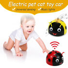 Ladybug Dog Cat Infrared Sensor Electric Pet  Intelligent Escaping Induction Toy