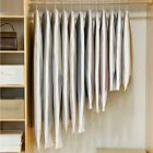 Clear Side-open Clothes Storage Bag for Household Garment Jacket Shirt Coat Dust