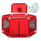 Baby Safety Playpen Play Yard Kid Activity Center Toddler Folding basket 59In