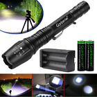 Tactical 990000Lumens L2 LED 5Modes  Police Flashlight 18650 Zoomable Lamp Torch
