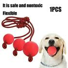 Dog Ball on a Rope For Pet Puppy Toys Tug Balls Pet Toy Toy Training Chew Z2H9