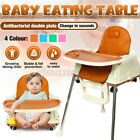 3in1 Baby High Chairs Adjustable Feeding Dining Booster Table Seat Highchair US