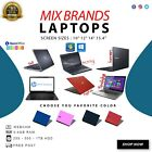 Mix Brands Laptops C2d 4gb Ram Wifi, Free Charger & Postage,30 Days Warranty