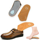 3/4 Orthotic Shoes Insole Flat Foot Arch Support Shoe Pad Foot Care Inserts