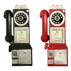 Home Decor Vintage Telephone Model Wall Hanging Crafts Best Ornaments Decor F5x9