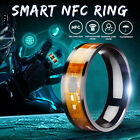 NFC Smart Wearable Ring Magic 8 Sizes Gold For Windows iOS Android Mobile  !