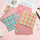 12Pcs Grid Paper Pad DIY Scrapbooking Happy Planner Album Diary Card Decor DIY