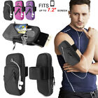 Armband Phone Holder Case Sports Gym Running Jogging Arm Band Cellphone Bag -