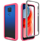 For Motorola Moto G Play 2021 Case Clear Shockproof Full Cover/Screen Protector