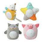 Stuffed Animal Plush Toys with Star Night Light Projector and Smooth Music