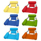 Inflatable Swimming Floating Chair Pool Seat Water Bed Lounge Chair Air Sofa