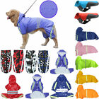 Dog Pet* Waterproof Clothes Padded Coat Camouflage Reflective Jackets Tank Vest