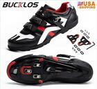 BUCKLOS Road Bike Shoes Buckle Men/Women fit Shimano/SPD-SL Look Delta Peloton