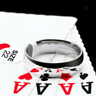 Magnetic PK Ring Magic Tricks Close Up Illusions Gimmick Prop for Hobbyist