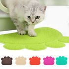 Pet Dog Puppy Cat Feeding Mat Pad Cute Bed Dish Food Feed Placement