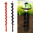 Earth Auger Drill Bit Fence Borer Garden Petrol Post Hole Digger 60/80mm  D2