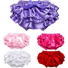 Infant Newborn Baby Girl Ruffle Bottoms Pants Nappy Diaper Cover Panties Skirts