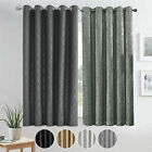 Thermal Blackout Short Curtains Bedroom Kitchen Small Window Curtains Tie Backs
