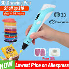 3D Pen for Children 3D Drawing Printing Pen with LCD Screen PLA Filament