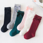 Toddler Children Kids Girls Knee High Bowknot Socks Baby Long Socks Stockings