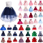 Kids Baby Girls Flower Gown Tutu Dress Party Wedding Bridesmaid Princess Dress