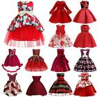 Kids Girls Ball Gown Princess Dress Christmas Xmas Party Prom Birthday 2-10 Year