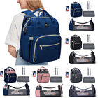Large Capacity Portable Maternity Bags Travel Nursing Folding Baby Bed Backpack