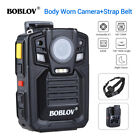 1296P 64GB Personal Body Worn Camera 140  Video Guard and Shoulder Strap