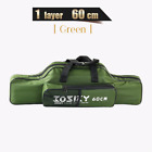 Bag Fishing Rod Storage Carrier Case Large Capacity Portable Foldable Waterproof