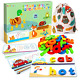 See & Spell Matching Letter Game Toy for Kids,Learning Educational Toy for 3 4 5