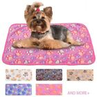 Soft Dog Bed Coral Fleece Thickened Pet Mat Winter Warm Handy Cover Dog Supplies
