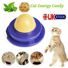 Healthy Cat Snacks Catnip Sugar Candy Licking Solid Nutrition Energy Ball Toy UK