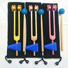 OM 136.1 Hz Tuning Forks Set Chakra Tuning Fork With Carry Pouch and Mallet