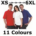 200gsm Mens Womens Pique Polo Shirt Size XS-6XL Big Outsize Plus Size Work Wear