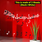 RHYTHM#2 Graphic Vinyl Wall Art Sticker Decal VG-503